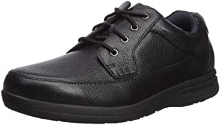 Cam Moc Men's Toe Casual Lace-Up Comfort Gel Memory Foam Shoes
