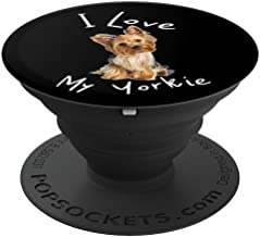 I Love My Yorkie Yorkshire Terrier - PopSockets Grip and Stand for Phones and Tablets
