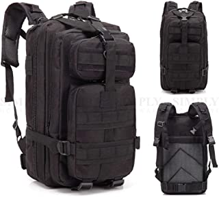 Crocox Military Tactical Backpack Molle Bag Rucksack Canvas Army Pouches Hiking