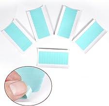 60 pieza repuesto Set Tapes Tiras Adhesivas para Tape Extensiones de pelo cabello verlänge Run Papel Super de doble cara cinta adhesiva Tab Belleza Herramientas