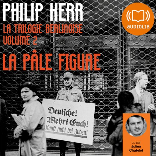 La pâle figure audiobook cover art