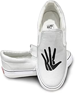 Caxlorb Men & Women Kawhi Basketball Player Leonard #2 Footwall Canvas Shoes Design Sport ShoesDancing Classic Leisure Style White
