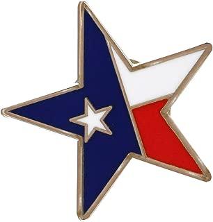 Lone Star State Texas Flag Pride Enamel Lapel Pin