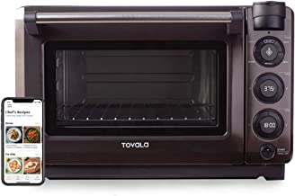 Tovala Gen 1 Smart Four à vapeur avec cuisson automatique multimode Génération 2 Small Black and Stainless