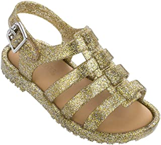 Mini Melissa Flox (Dourada/Glitter)