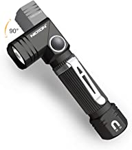 Flashlight, NICRON N7 600 Lumens Tactical Flashlight, 90 Degree Mini Flashlight Ip65 Waterproof Led Flashlight 4 Modes- Be...