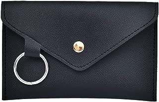 2019 Fanny Pack Women Belt Bag Leather Waist Bag Fashion Women's Pure Color Ring PU Messenger Shoulder Chest pochete homem,Black