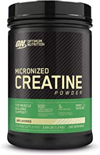 Optimum Nutrition Creatine Powder, Unflavored, 1200g
