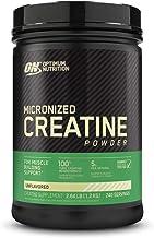 Optimum Nutrition Micronized Creatine Monohydrate Powder, Unflavored, Keto Friendly, 240..