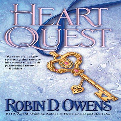 Heart Quest audiobook cover art