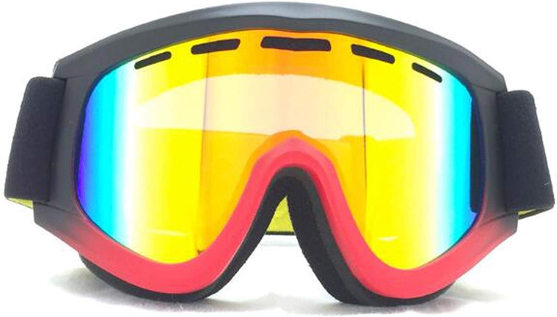 Large View Anti-Fog Sand-Proof Ski Goggles Professional Snowmobile Goggles
