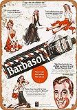 DGBELL Barbasol Shaving Cream Retro Wand Dekoration Zinn