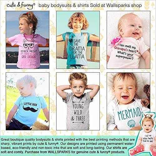 Coming Soon Birth Pregnancy Announcement Baby one Piece cuteandfunnykids i Love My Grandma