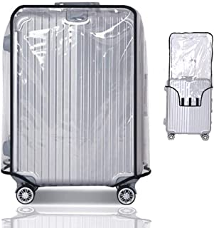"Travel Luggage Protector Suitcase Covers Luggage Protector Suitcase Cover PVC Bag Dust proof Travel Suitcase (20"" (13.8""L x 9.1""W x 20.9""H))"