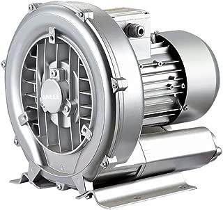 LNLEE Fish Pond Ring Blower for Aquirum, Regenerative Air Pump, Vortex Gas Pump, Side Channel Blower, Sewage Aeration (LN550W-110V60Hz)