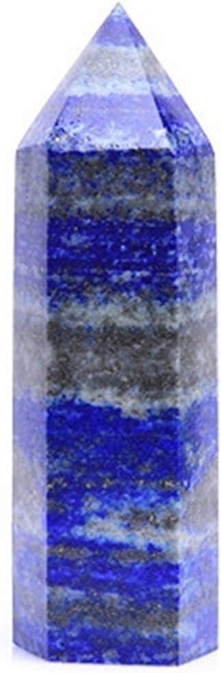 XinQuan Trust Wang Natural Finally resale start Lapis Lazuli Point Wand Stones Chakra Hand