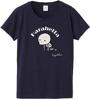 [Chara Park] 妖怪Tシャツ がしゃどくろ ゆるかわ プリントT レディース M L 白 グレー ネイビー