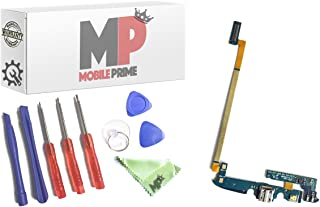 MOBILEPRIME Replacement Charging Charge Port with Certified Repair Tools for Galaxy S4 Active I537