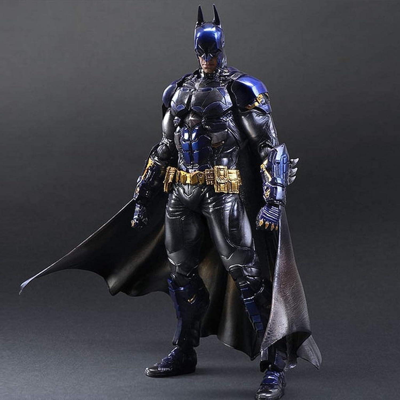 envío rápido en todo el mundo CCJW Batman Batman Batman Modello Puppet Anime Giocattoli Fatti A Mano PVC Giocattoli En Scatola Regali para Le Vacanze Artigianato Decorazioni Belle Sculture Statue azul  liquidación hasta el 70%
