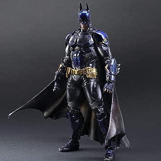 Asdfnfa Toy Statue Handmade Batman Modello Puppet Anime Model Gift Game Collector 26CM