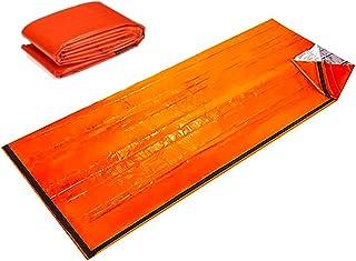 サバイバルシート 非常時用寝袋 繰り返し使用可 アウトドアや防災に 軽量 防寒 保温 防水 遮熱 コンパクト サバイバル ツール グッズ