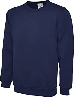 Shoppersbay Uneek UC203 Men Adults Crew Neck Stylish Casual Classic Sweatshirt XS-2XL