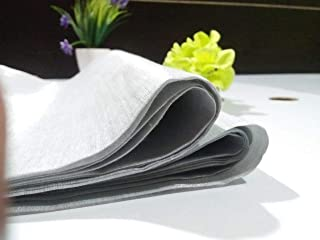 Blouse Running Material 1 Mtr TMK Designs Tissue Silk   Silver