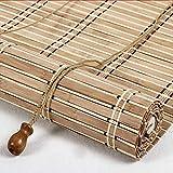 AA-Curtain CULI Bambusrollo Rollos Verdunkelungsrollos mit Beschlag