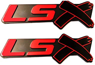 SS R SSR Badge Car Rear Side Trunk Emblem Sticker for Chevrolet Camaro Signature