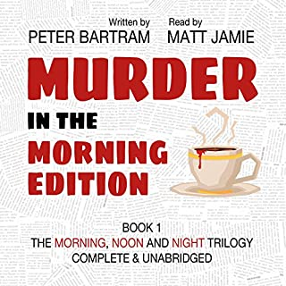 Murder in the Morning Edition audiobook cover art