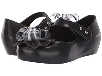 Mini Melissa Ultragirl Sweet VI BB (Toddler/Little Kid) (Black Glitter) Girl
