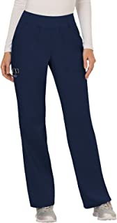 Cherokee Workwear Revolution Women's Mid Rise Straight Leg Pull-On Scrub Pant