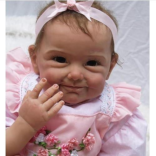 QXMEI Spielzeug Puppe Simulation Reborn Baby Puppe mädchen Spielzeug Geschenk Kreative Geschenk Spielzeug Puppe