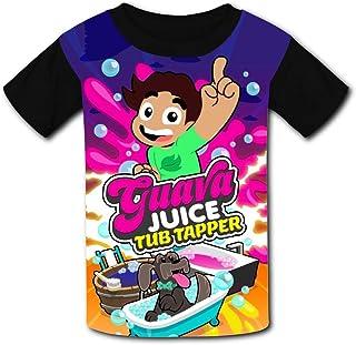 HEYheyboy Guava-Juice-tub-Tapper Youth T-Shirt Short Sleeve Fanny Teenagers Tees Boys Girls