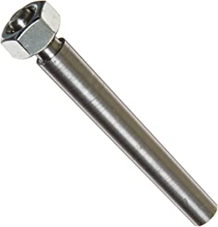 Steel Externally Threaded Taper Pin With Hex Nut, Plain Finish, Standard Tolerance, #6 Pin Size, 5/16