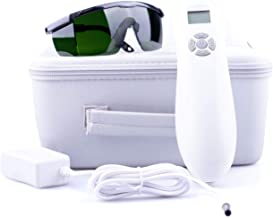 HD-MAX Cold Laser Therapy Device for Pain Relief - Red Light Therapy for Back Pain, Arthritis Pain Relief. Hand Held Laser For Home Use. 4 Bonuses: 2 Acupuncture E-Books, Safety Goggles, Extra Adapter