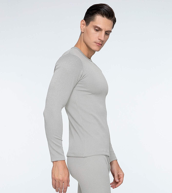 LAPASA Men/'s Heavyweight Thermal Underwear Set Heavyweight Thermal Underwear Long Sleeve Tops Warm Thermal Bottoms Long Johns Pants M24 M26 M25 M63