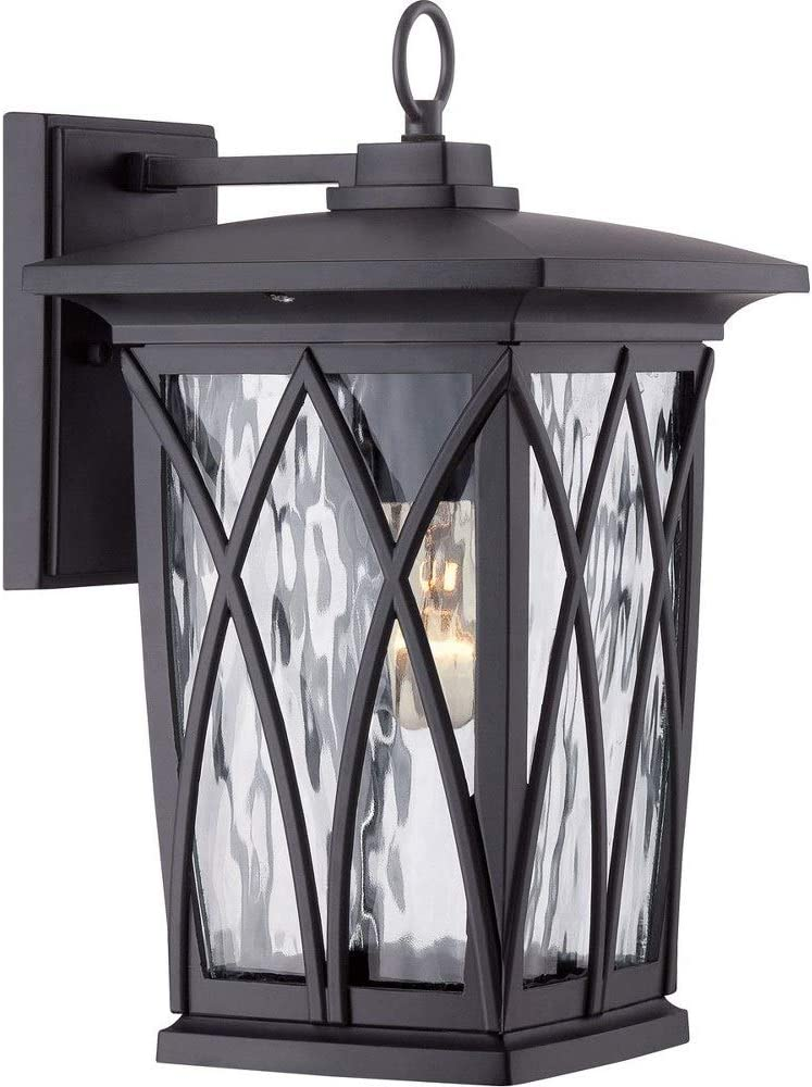 Quoizel GVR8408K Grover Outdoor Cheap super special price Lantern Sconce 10 1-Light Wall A surprise price is realized