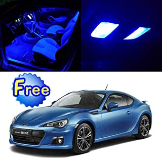 SCITOO LED Interior Lights 11pcs Blue Package Kit Accessories Replacement for 2013-2017 Subaru BRZ