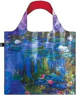 LOQI LQB1-MUMOWL Museum Shopping Bag, Water Lilies, L Capacity