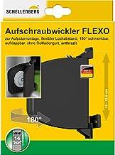 Schellenberg 50149 opschroefwikkelaar Flexo openklapbaar MINI riemwikkelaar opbouw, antraciet