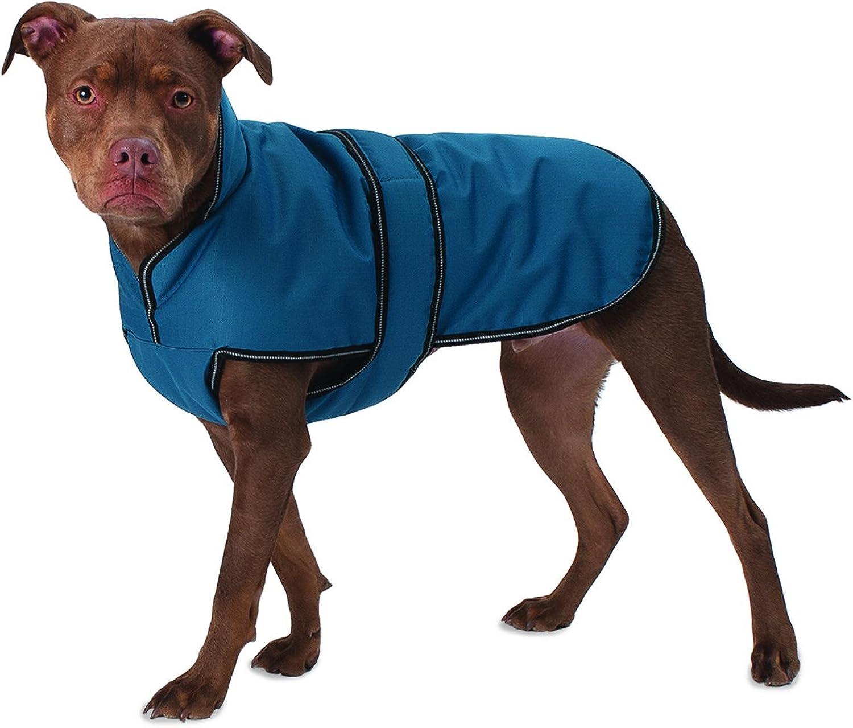 Pet Rageous 7303TS Juneau Coat, Small, Teal
