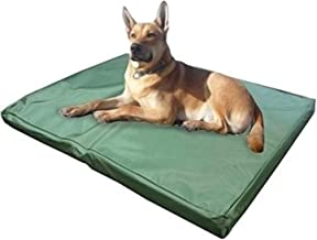 ADOV Large Dog Beds, Double-sided Waterproof Pet Bed, Durable Oxford Washable Cover Orthopaedic Foam Mat, Luxury Cushion Mattress for Dogs, Cats, Other Small and Big Pets - (112 x 74 x 5cm)