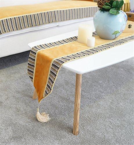 Sucastle® 30X180cm tissu Chemin de Table Cuisine Imperméable Décoration en Aspect naturel