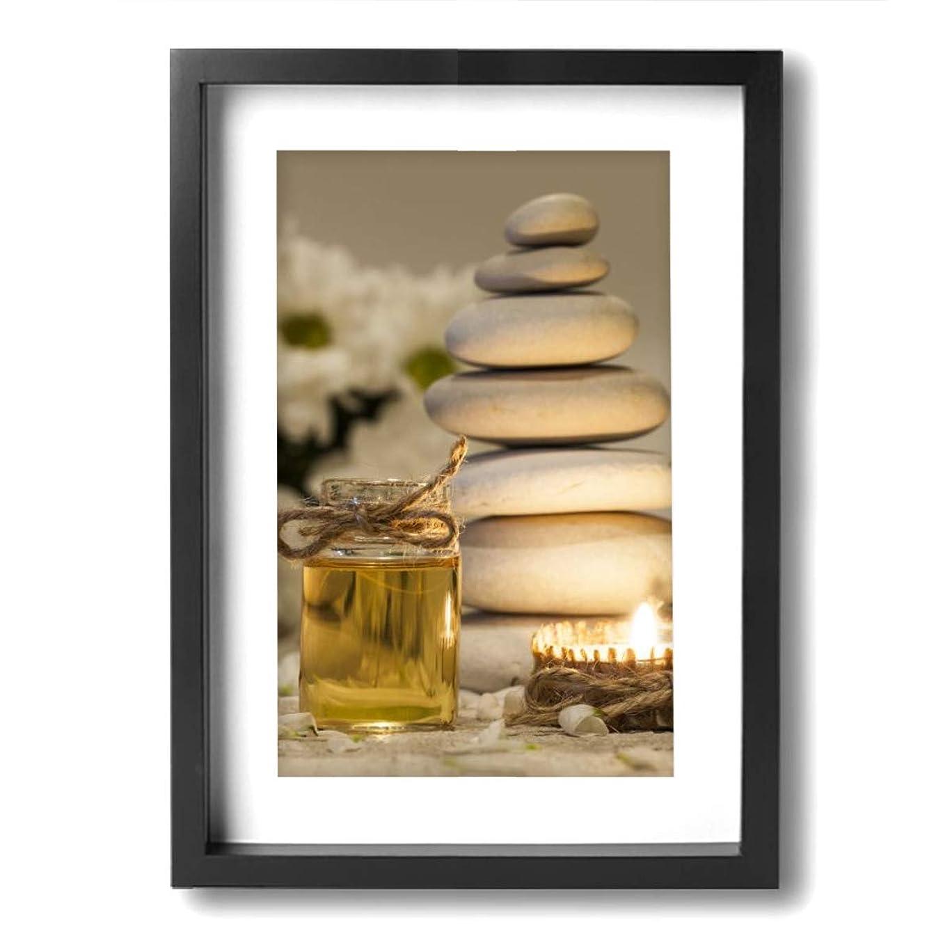 歪める首謀者香り魅力的な芸術 20x30cm Chamomile Essential Oil Chamomile Flowers キャンバスの壁アート 画像プリント絵画リビングルームの壁の装飾と家の装飾のための現代アートワークハングする準備ができて