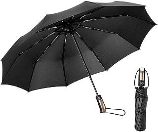 EMAGIE Paraguas Automático de Viaje Paraguas Plegable Grand