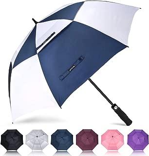 ZOMAKE Golf Umbrella 62/68 Inch, Large Windproof Umbrellas Automatic Open Oversize Rain Umbrella with Double Canopy for Men - Vented Stick Umbrellas