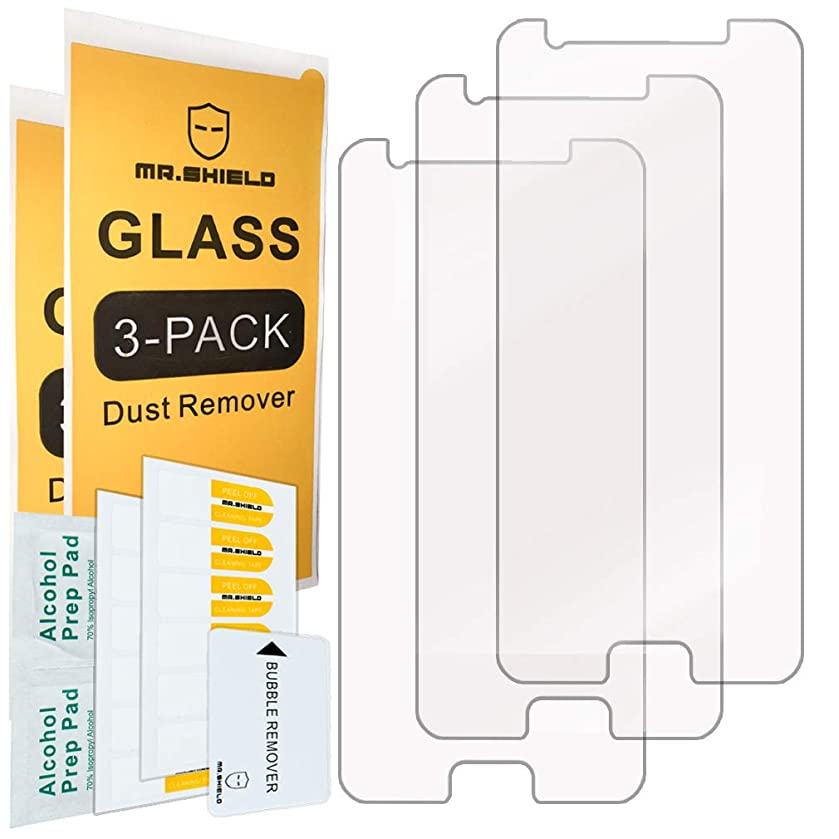 [3-Pack]- Mr.Shield for Samsung (Galaxy J3 2018) [Tempered Glass] Screen Protector [Japan Glass with 9H Hardness] with Lifetime Replacement