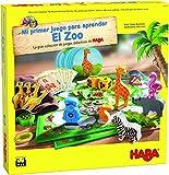 Haba Mesa Mi Primer Juego para aprender: El Zoo-ESP, multicolor (H305176) , color/modelo surtido