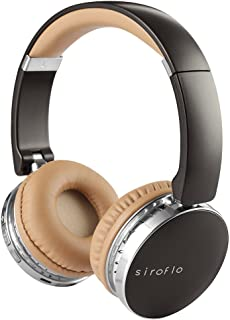 Auriculares Bluetooth Inalámbricos, Cascos Bluetooth, Cascos de Música, Siroflo Auriculares de Diadema Bluetooth con Micrófono Manos Libres y Estéreo, 18 Horas de música, para iPhone, Huawei, Samsung